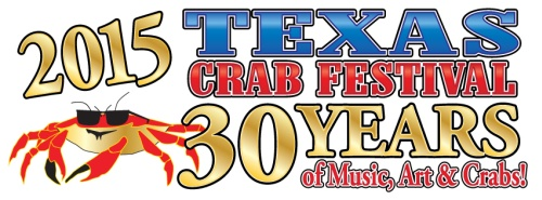 2015 Texas Crab Festival, 30 Years of Music, Art & Crabs - Gulf Coast Style
