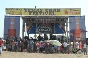 Many entertainers that have graced the stage at the Texas Crab Festival, some going on to national prominence.
