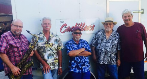 The Cadillacs at the Texas Crab Festival