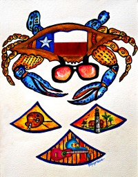 Texas Crab Festival 2018 T-Shirt Design Contest